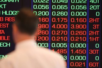 The ASX 200 fell 0.9 per cent on Wednesday.