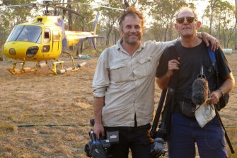 Tanna directors Bentley Dean (left) and Martin Butler.