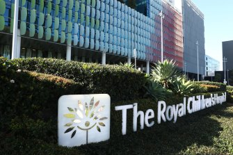 The Facebook page of Melbourne's Royal Children's Hospital has been stripped of content.