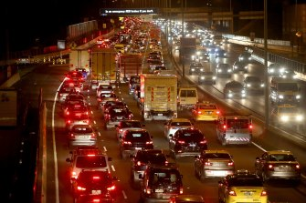 Commuter traffic would be reduced if people stayed working from home long term.