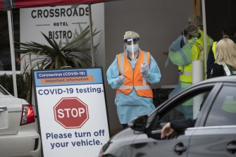 Patrons at Sydney's Crossroads Hotel were quick to get tested in July when an outbreak occurred.