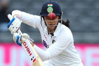 Smriti Mandhana got India away to an ideal start on the Gold Coast.