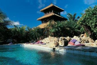 Sir Richard Branson's luxury resort at Necker Island.