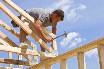 Perth tradies are in demand as residential building booms.