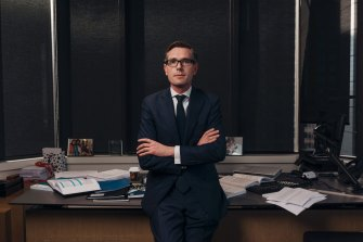 NSW Treasurer Dominic Perrottet is a leading contender for the top job.