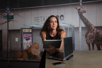 Janine Allis, Shark Tank shark and creator of food chain Boost Juice.