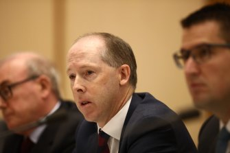 Australian Building and Construction Commissioner Stephen McBurney said the union officials' conduct was unacceptable.