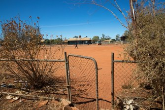 The remote Aboriginal community of Yuendumu in the Northern Territory.