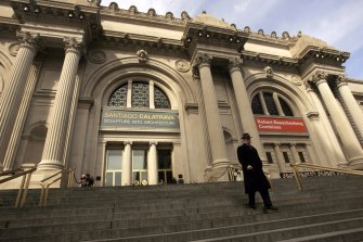 The Metropolitan Museum of Art, New York, is one of the wealthiest, most well-supported museums in the world.