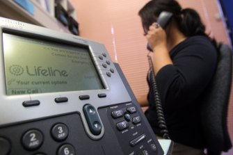 Lifeline has seen a dramatic increase in people needing support.