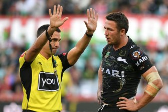 It is difficult to see other workers essential to the NRL copping the same treatment as referees.