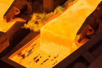 Copper prices have doubled in the past year and investors are betting more gains are in store.