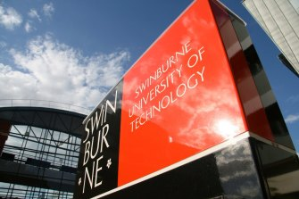 This is 'one of the most challenging times' for Swinburne.