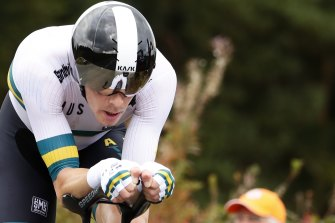Rohan Dennis says he is in a much better place after struggling with mental health issues last year.