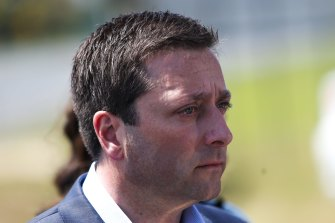 Matthew Guy appears to be the obvious choice to replace Michael O'Brien as leader.