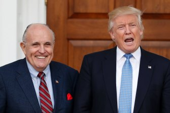 Rudy Giuliani and Donald Trump could not successfully be charged with sedition, according to lawyers who spoke to The Associated Press.