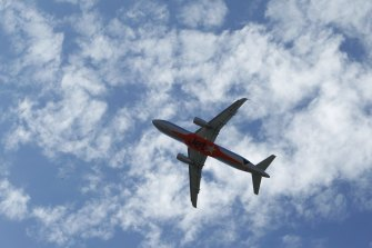 Sydney's air space is easily the busiest in the country.