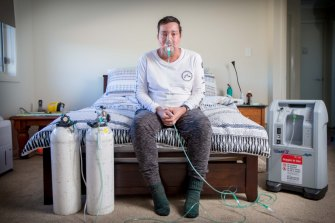 Chris Parmangos was about 15 years into his job as a labourer in Sydney when he was diagnosed with lung disease from exposure to silica dust.