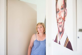 Ms Batty was sent a portrait of Luke by artist Jacqui Clark after she saw reports of the tragedy on television.