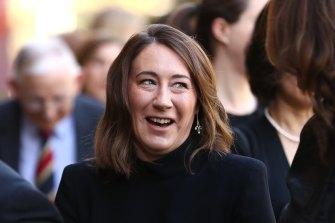 Vogue Australia editor-in-chief Edwina McCann on Thursday.