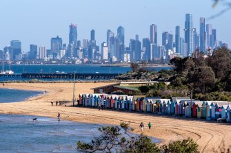 Brighton is among the Melbourne suburbs with a $2 million median house price. Many more are expected to join it over the next decade.