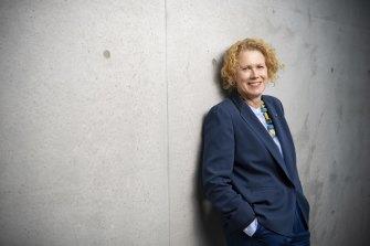 Outgoing Museum of Contemporary Art director Liz Ann Macgregor.