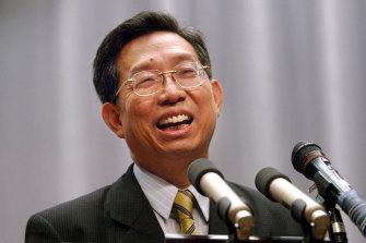 Taiwan's Professor Su Ih-Jen.