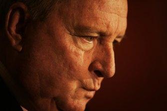 Alan Jones ... his last week on air.