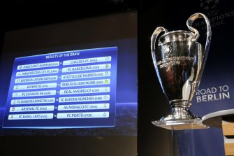 Sports Flick's bid for the UEFA Champions League rights is yet to be officially confirmed.