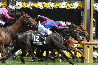 Prince Of Arran went so close to beating Vow And Declare in the 2019 Melbourne Cup.