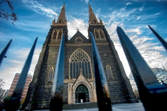 St Patrick's Cathedral in East Melbourne.