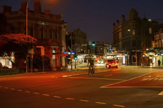 Newtown was one of the suburbs worst-affected by the coronavirus crisis.