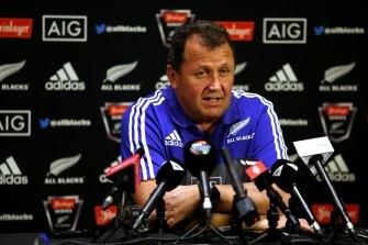 New All Blacks coach Ian Foster.
