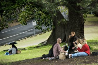 Outdoor gatherings for fully vaccinated people will increase to 30 people on October 11.