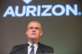 Aurizon chairman Tim Poole says he's not worried about a potential backlash over its ties to Adani's coal project.