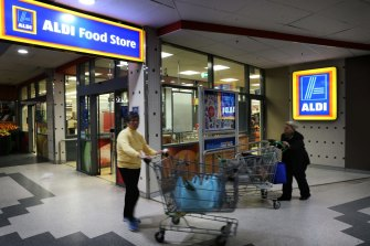 Aldi's CEO has called for compassion as stores deal with shortages.
