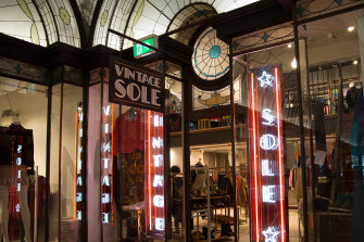 There are three Vintage Sole stores in Melbourne.