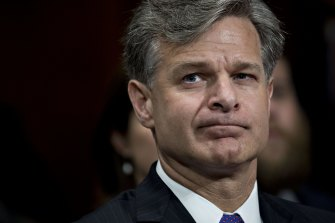 Christopher Wray, director of the FBI.