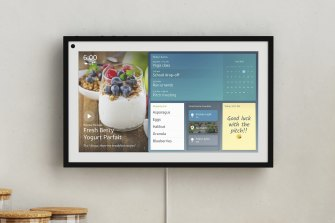 Amazon's Echo Show 15 is a smart display you can hang on your wall.