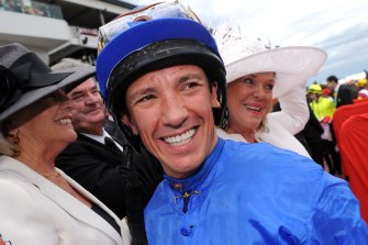 Coming back: Frankie Dettori is looking to go one better than he did on Max Dynamite in 2015.