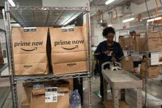 Amazon has been on a recruiting tear, adding more than 400,000 workers last year as the pandemic sent locked-down shoppers rushing online.