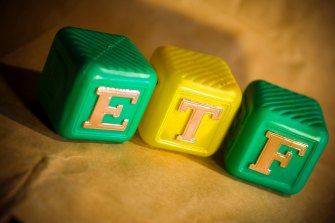 "ETFs acted somewhat as a ""shock-absorber"" during the market volatility."
