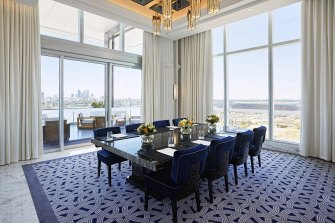 The Crystal Club at Crown Towers has one of the best views of the city and river in Perth.