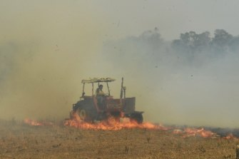 Fire dangers will again reach 'severe' levels on Friday for much of eastern NSW, including Sydney.  Ex-staff and volunteers say resources are being cut back, something the NSW government denies.