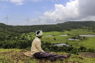 Wind farms in India are a major source of cheap carbon credits.