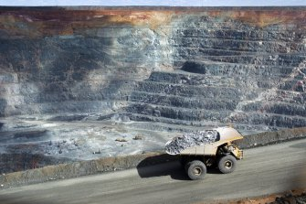 The Kalgoorlie Super Pit is the hole full of gold which keeps on giving.