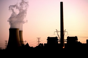 Ageing coal-fired power plants, such as AGL's Liddell station in the Hunter Valley, will likely be tested this summer.