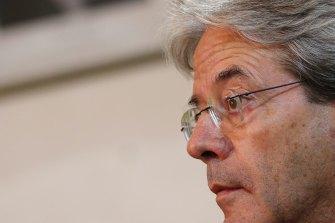 Economics Commissioner Paolo Gentiloni.