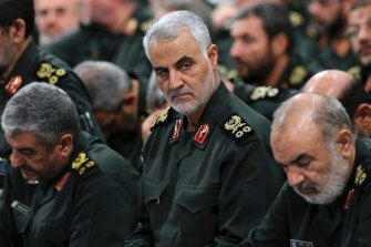 Major General Qassem Soleimani, pictured in September 2016.