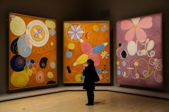 Hilma af Klint: The Secret Paintings at the Art Gallery of NSW. Stored away and scarcely known for decades, the works of Af Klint have been cut short by lockdown.